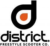 District S-Series Griptape Logo Blue